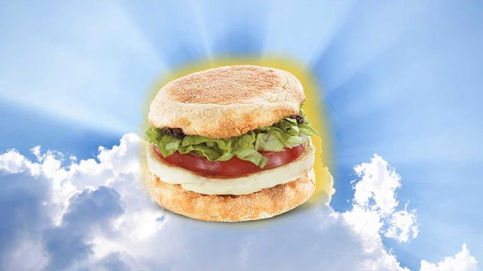 The Halloumi McMuffin is real, you aren't dreaming