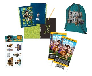 Win an Early Man family prize pack!