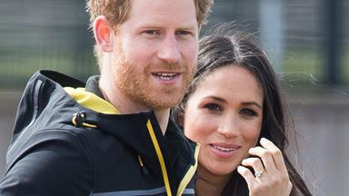 Prince Harry honours his bride-to-be Meghan Markle in a speech about his impressive new job