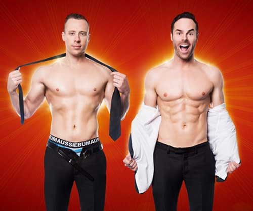 Win a double pass to The Naked Magicians on Tuesday the 1st of May