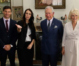 Jacinda Ardern meets royalty and world leaders on visit to London