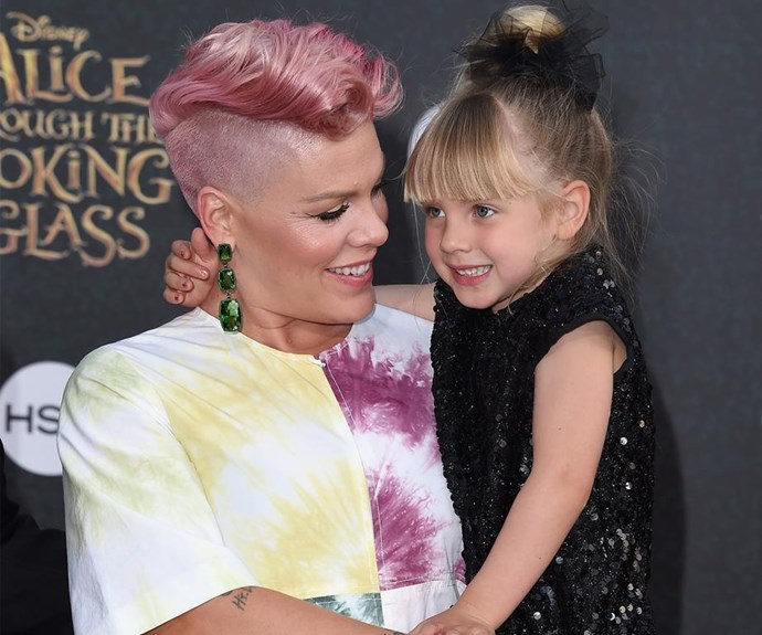 """""""I'm a tough mama"""": Pink shares her advice for raising strong kids"""