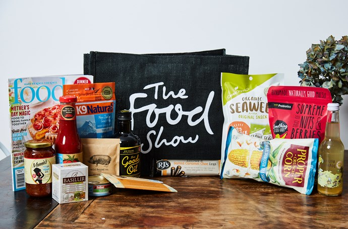 Win a Food Show Wellington prize pack including a double pass and hamper