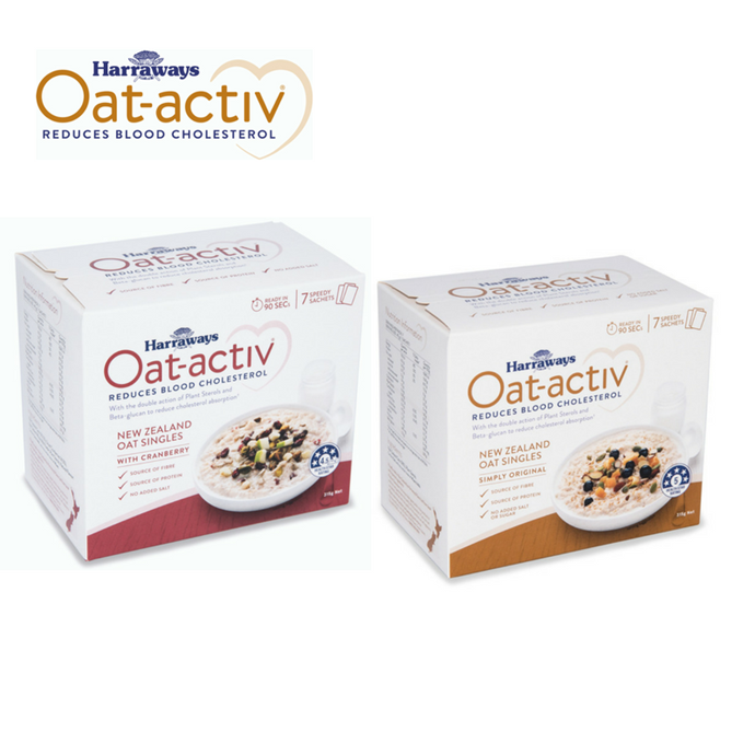 Win a Harrawys Oat-activ prize pack!
