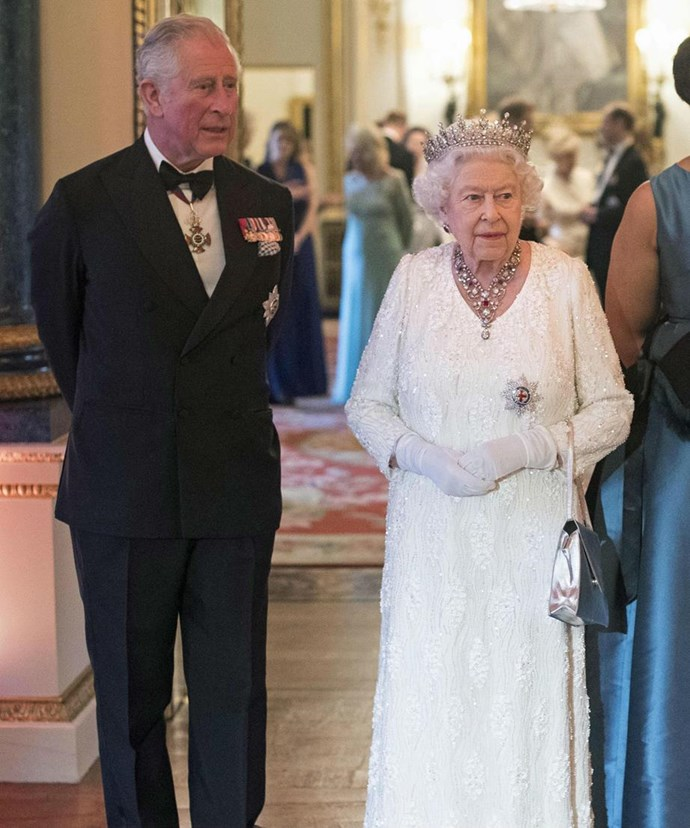 Ahead of the history-making decision, Queen Elizabeth and Prince Charles welcomed all the heads of state from the Commonwealth countries to a banquet in London.