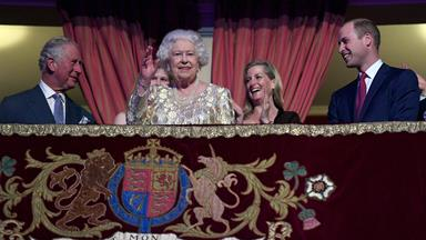The Queen celebrates her 92nd birthday with a concert
