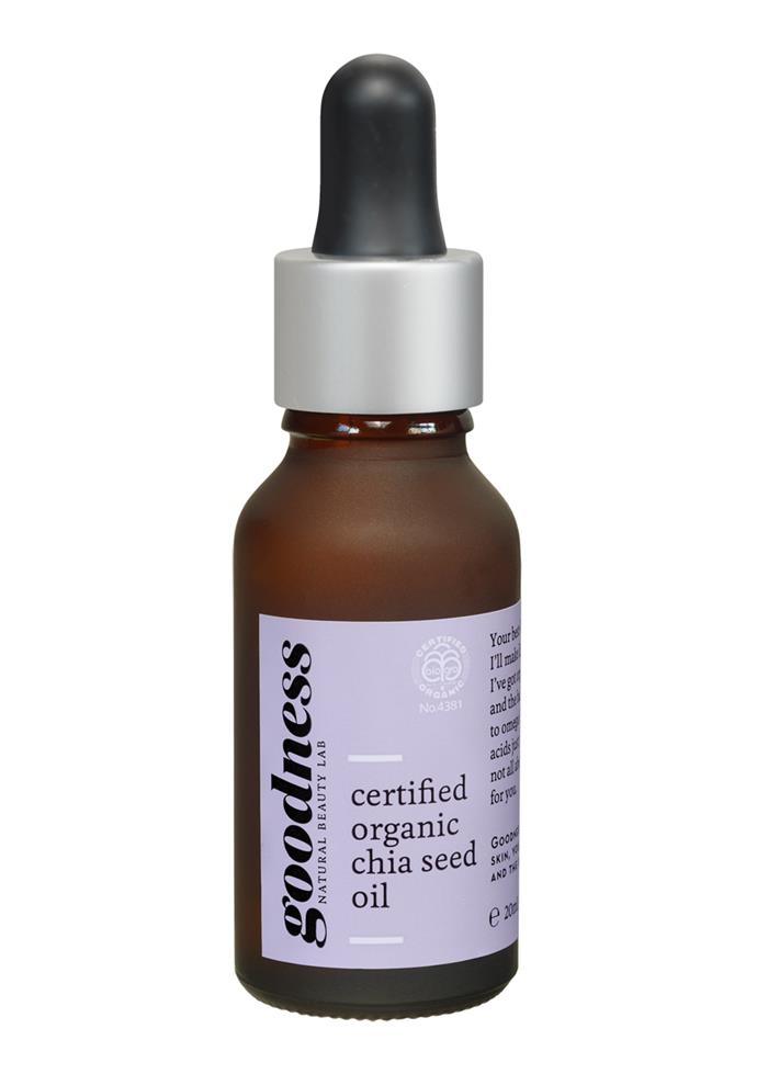Goodness Certified Organic Chia Seed Oil