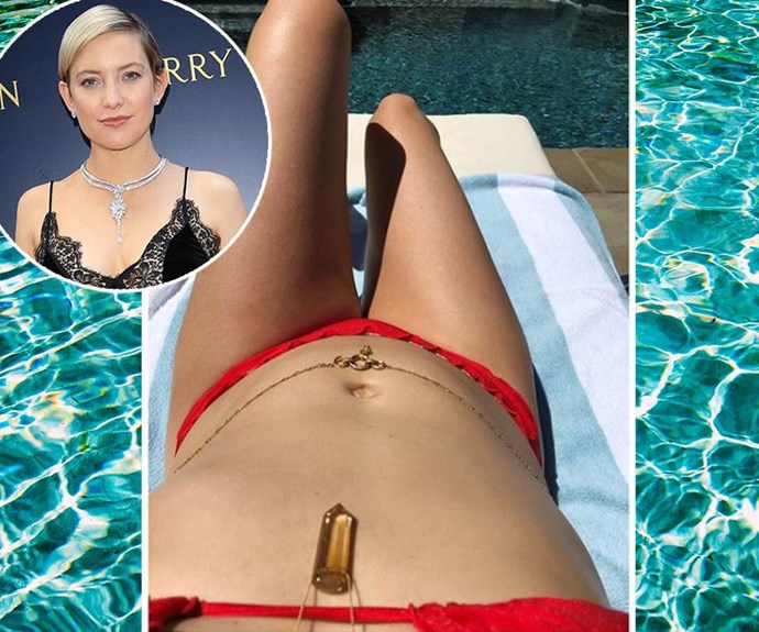 Kate Hudson is pregnant with number three.