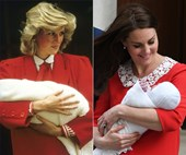 Duchess Catherine's touching tribute to Diana as she introduces new baby to the world