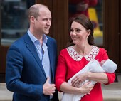 The new Prince breaks record tipping the scales as the heaviest royal baby in 100 years