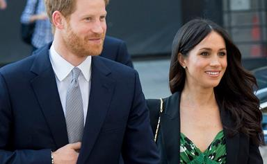 Meghan Markle posted a secret photo of Prince Harry on Instagram