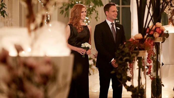 The wedding looks beautiful. Credit: *USA Network*