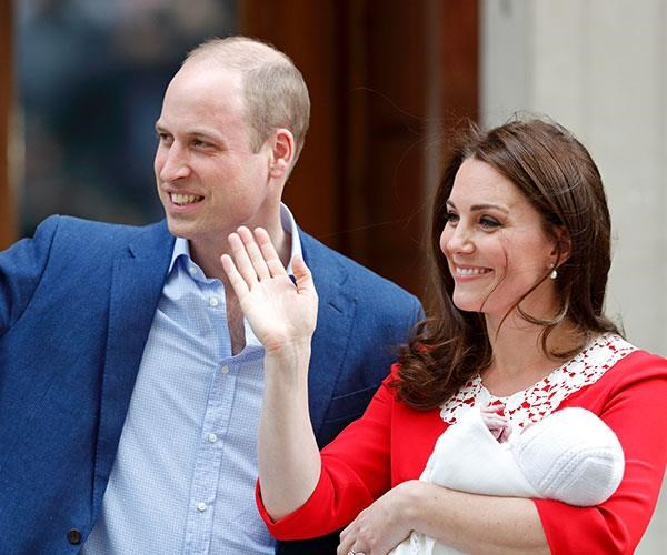 It's believed Prince William and Duchess Catherine will first share their newborn's name with The Queen, before announcing it in a public capacity.