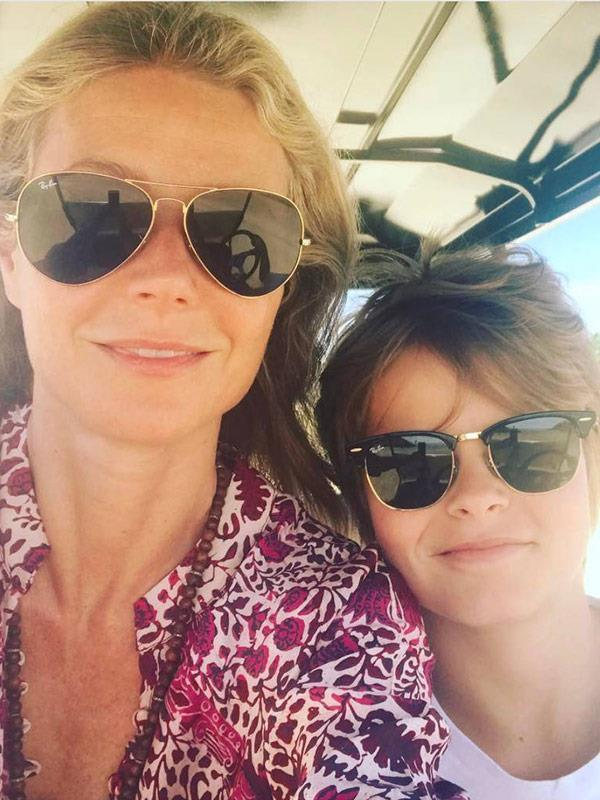 Gwyneth believes her bond with her son Moses was strengthened by her struggle with post-natal depression.