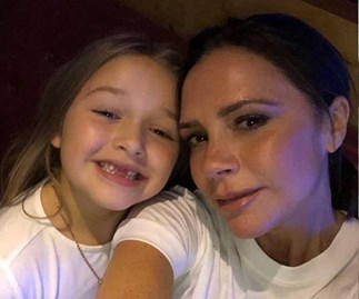 "Victoria Beckham's fans can't get enough of daughter Harper's ""posh"" accent"
