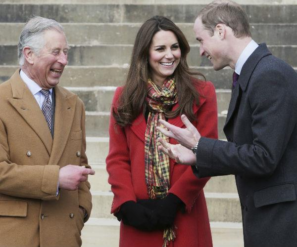 In cahoots! The royal baby name is a clear nod to Louis' paternal grandfather, the Prince of Wales.