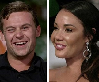 "MAFS' Davina Rankin threatens to call lawyers on former ""husband"" Ryan Gallagher for using her name in his comedy routine"