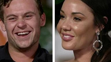 """MAFS' Davina Rankin threatens to call lawyers on former """"husband"""" Ryan Gallagher for using her name in his comedy routine"""