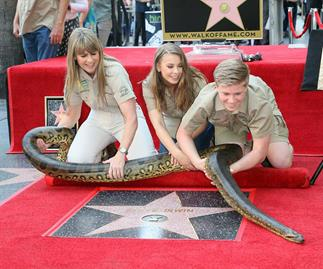Bindi Irwin's emotional tribute to Steve Irwin when presenting his Star on the Hollywood Walk Of Fame