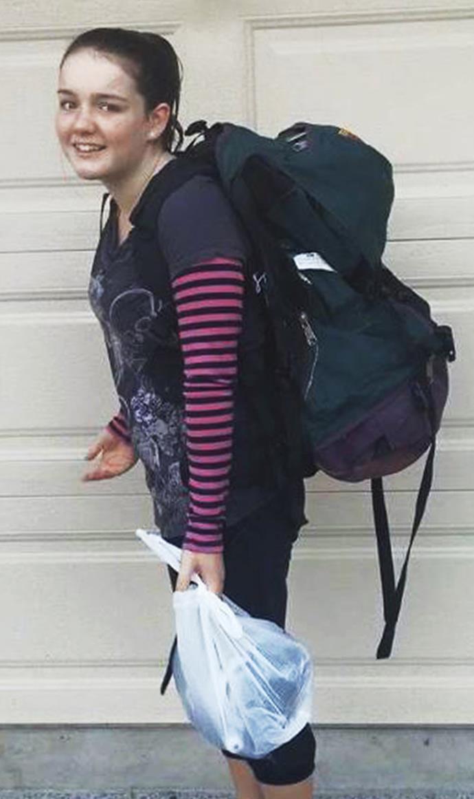 Walking the Pinnacles trail in Coromandel three weeks before her diagnosis