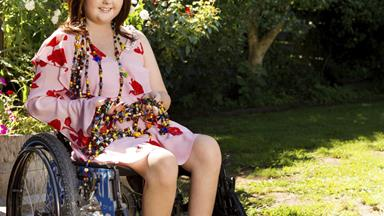 Courageous teen Aneliese Kay won't let cancer slow her down
