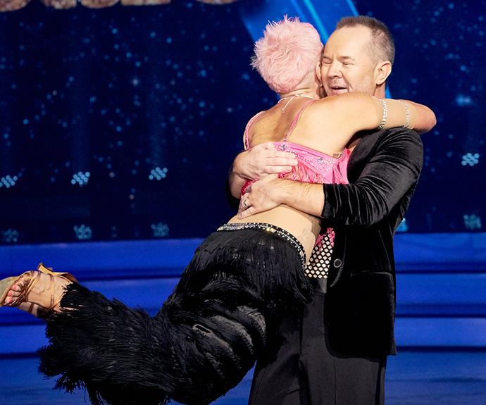 10 things you didn't see on Dancing With The Stars last night