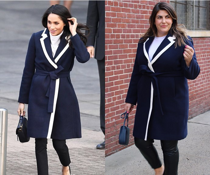 The body positive blogger who is recreating Meghan Markle's outfits - and rocking them