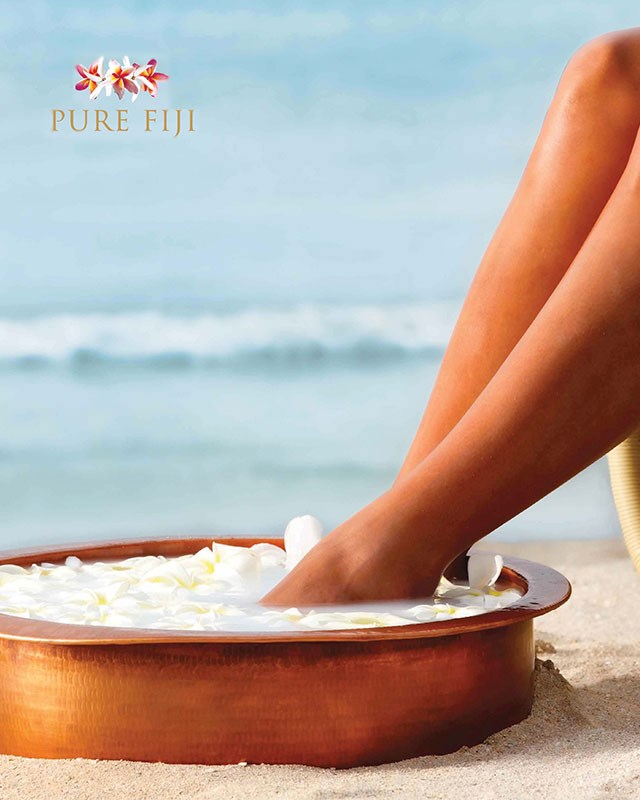 Pure Fiji Exotic Paradise Spa Pedicure