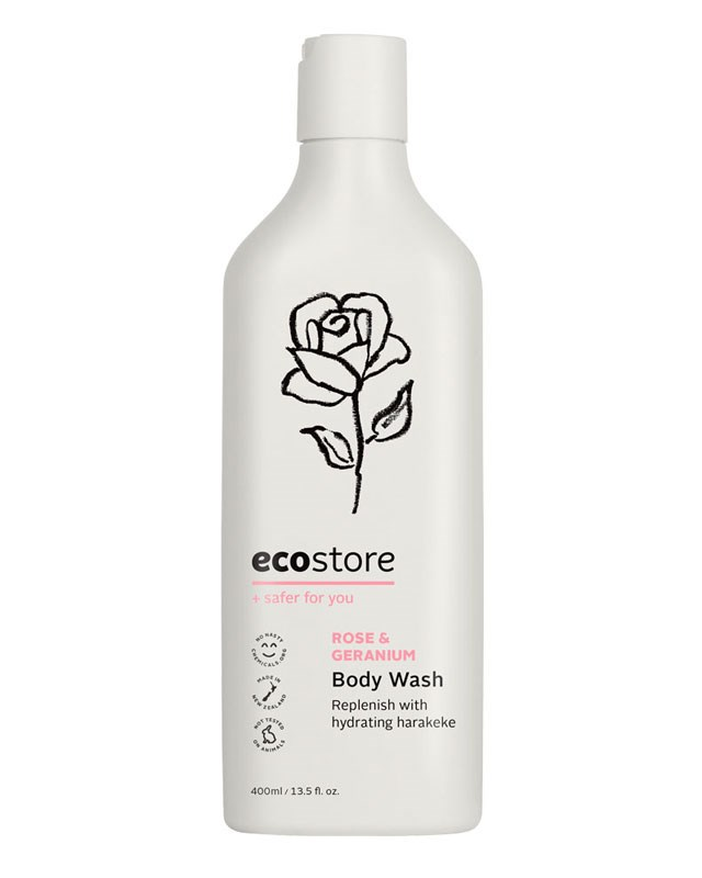 ecostore Body Wash Rose & Geranium