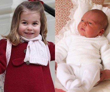 Princess Charlotte and Prince Louis star in stunning new royal portraits