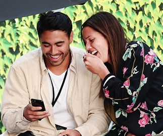 At last! Shaun Johnson and Kayla Cullen announce their engagement