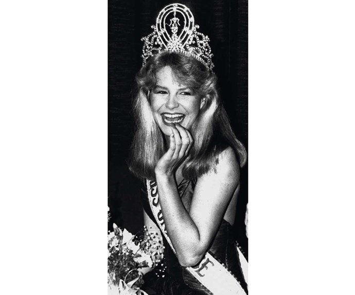 Lorraine is crowned Miss Universe at just 19 years old in 1983.