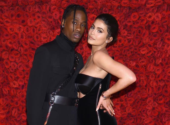 Kylie and Travis attended the MET Gala together in New York despite swirling rumours around the paternity of daughter Stormi.