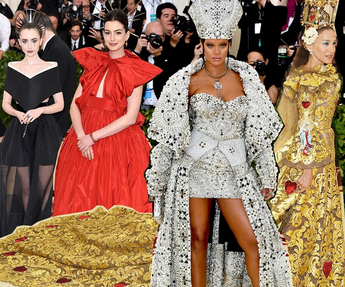 All the wild, stunning and shocking looks from the 2018 Met Gala red carpet