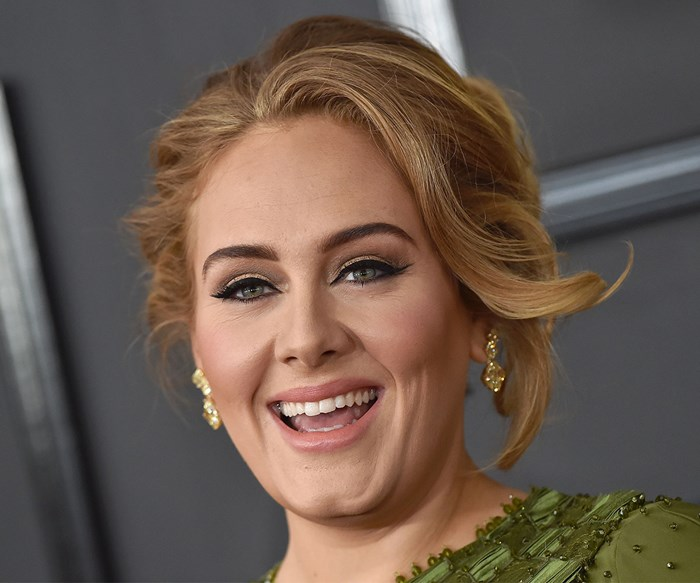 Adele shows off weight loss at her 30th birthday party
