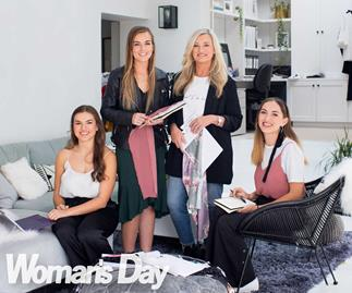 It's a family affair for Flo and Frankie clothing's Chrissy Conyngham