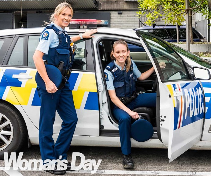 The mother and daughter crime-fighting duo on the beat for the police