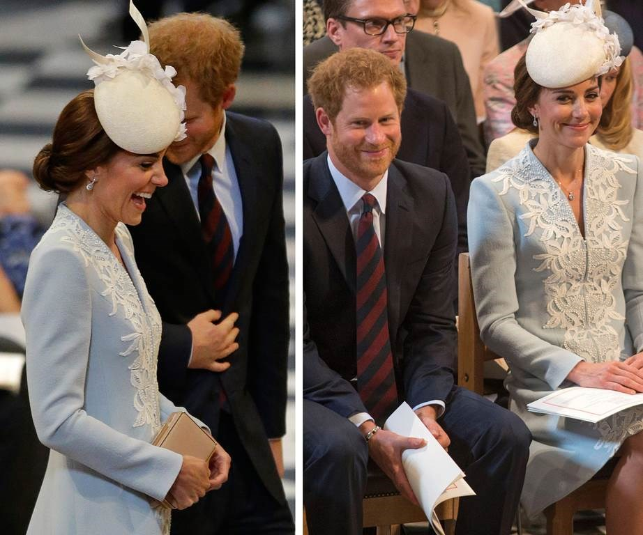 "These two! Apparently [Harry has a sweet nickname for Duchess Catherine](http://www.nowtolove.co.nz/celebrity/royals/prince-harrys-nickname-for-kate-middleton-is-very-sweet-38802|target=""_blank"")."