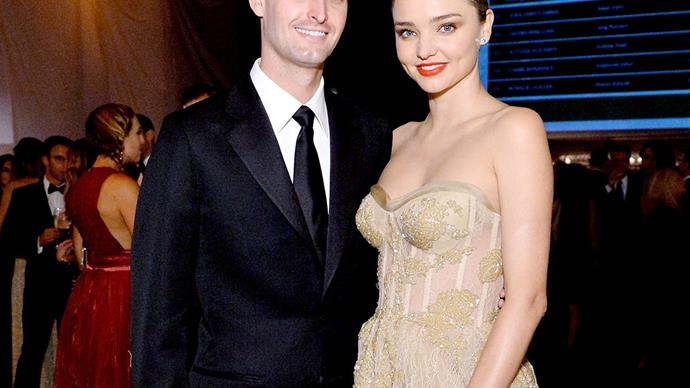 Miranda Kerr and Evan Spiegel welcome their first child together - a healthy baby boy!