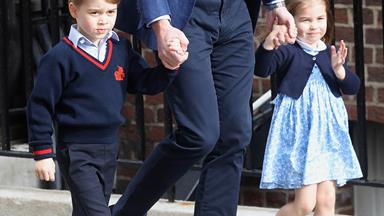 "Princess Charlotte's toys are ""hand-me-downs"" from older brother Prince George"