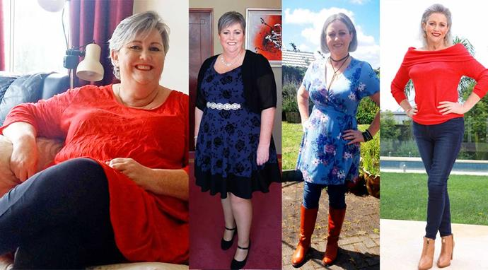 "Lisa's goals were to lose her ""chin-neck"" and buy regular clothes. She can tick those off – plus she looks years younger!"