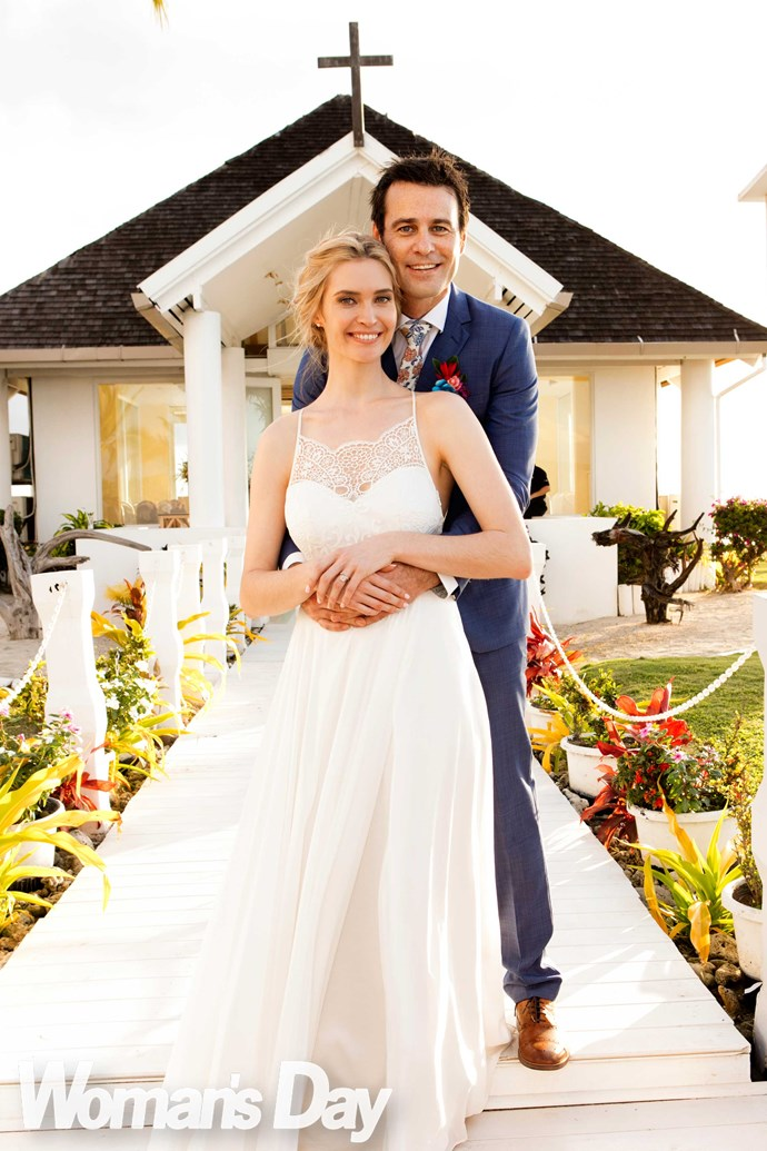 Siobhan and Millen married in Fiji in 2016.