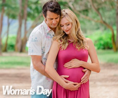 Siobhan Marshall and Millen Baird share their baby joy