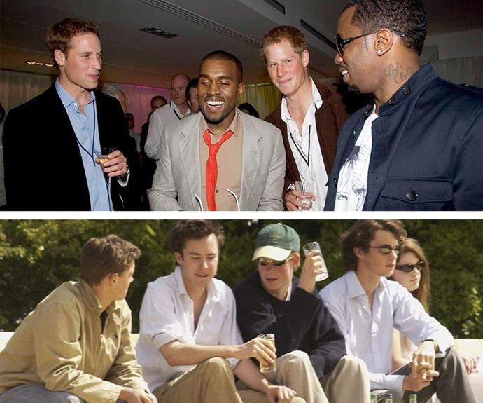 Partying with Yeezy and Jay... Yes please.
