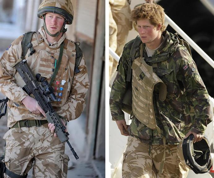 Prince Harry underwent officer training at the Royal Military Academy Sandhurst. During his time in the army he served in Afghanistan.