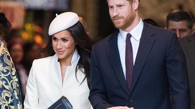 Almost too cute for words! Prince Harry and Meghan Markle reveal their adorable bridal party