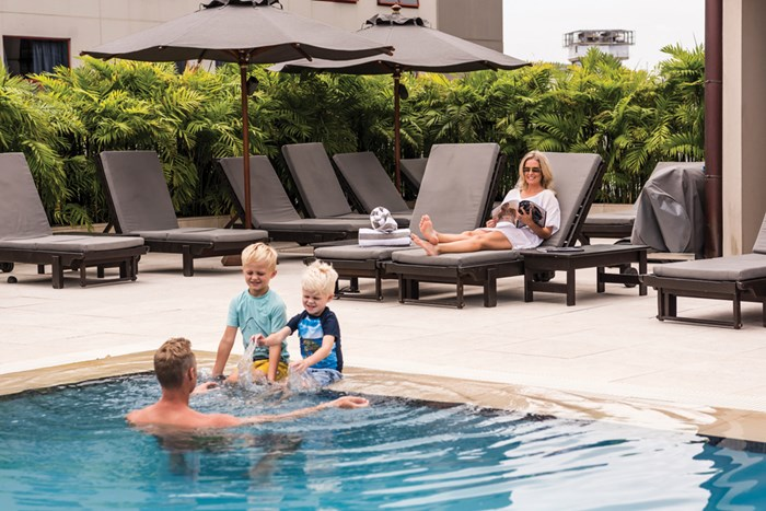 Cordis Auckland is offering a new hotel experience for the whole family