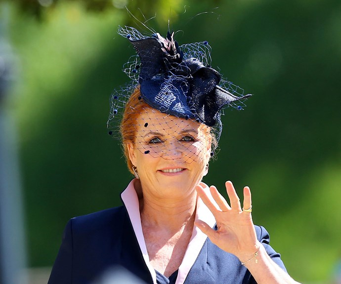 Sarah Ferguson was thinking of Princess Diana before 'nerve-wracking' royal wedding arrival