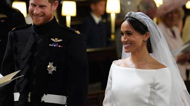 They do! Prince Harry and Meghan Markle's wedding vows are full of romance