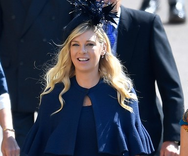 Prince Harry's ex-girlfriends Chelsy Davy and Cressida Bonas attend royal wedding